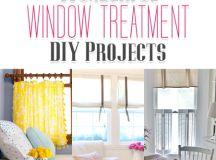 Wonderful Window Treatment DIY Projects - The Cottage Market