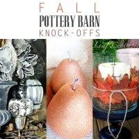 Fall Pottery Barn Knock-Offs - The Cottage Market