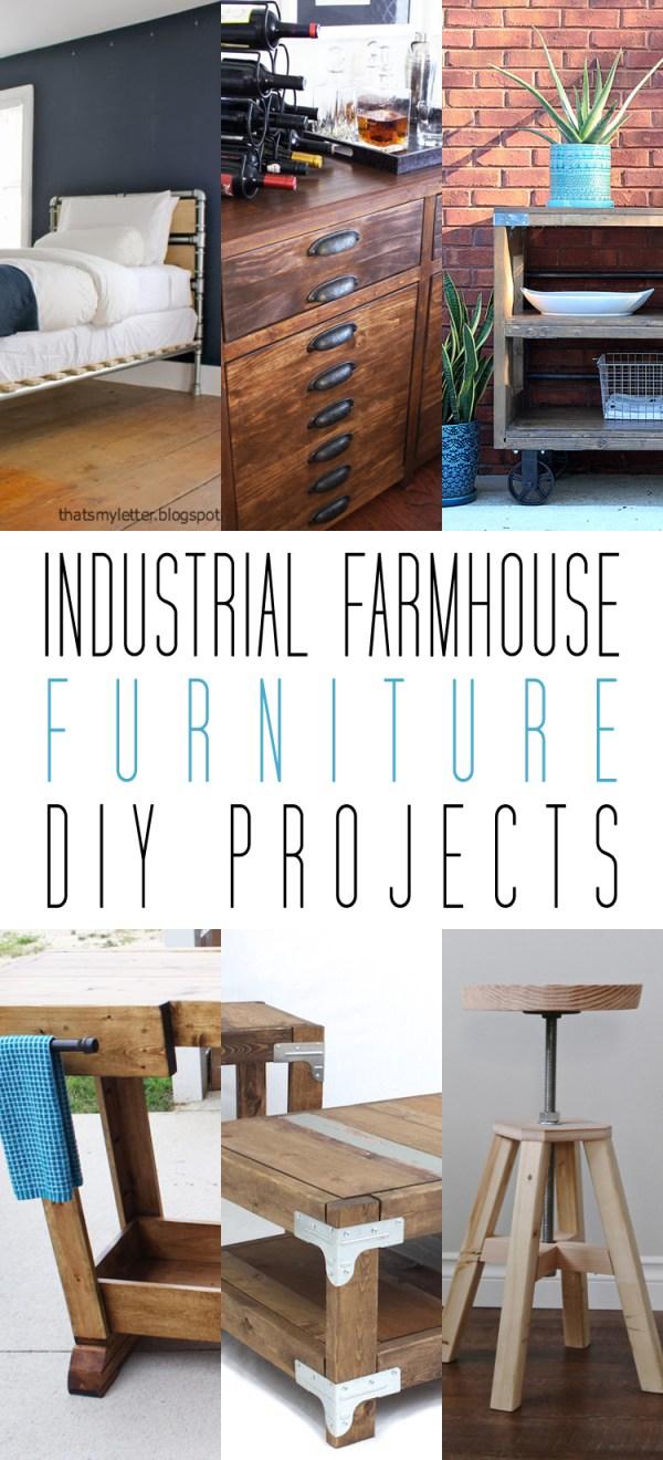 industrial farmhouse furniture