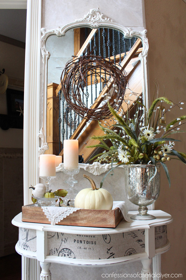 20 Inspirational Farmhouse Fall Vignettes  Page 2 of 4  The Cottage Market