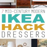 7 Mid Century Modern Ikea Dresser Makeovers The Cottage Market