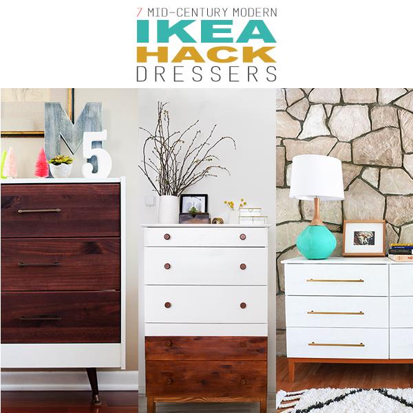 7 MidCentury Modern IKEA Hack Dressers  Page 4 of 9