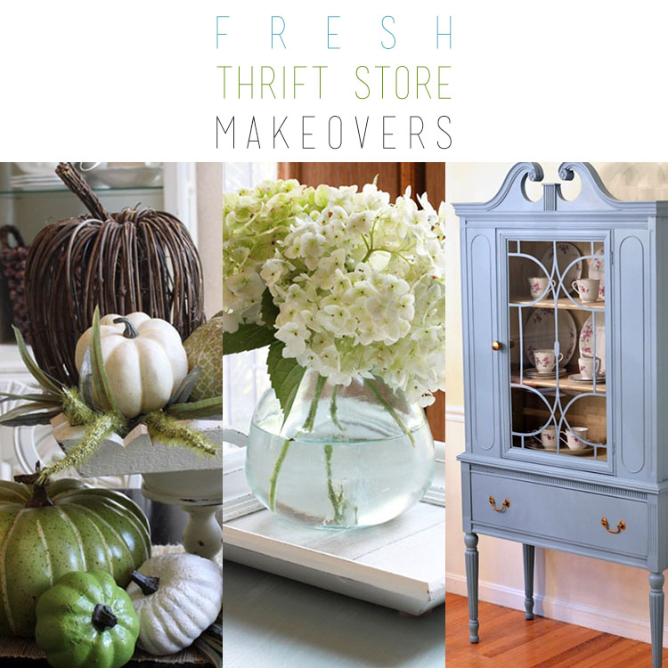Fresh Thrift Store Makeovers  Page 3 of 10  The Cottage