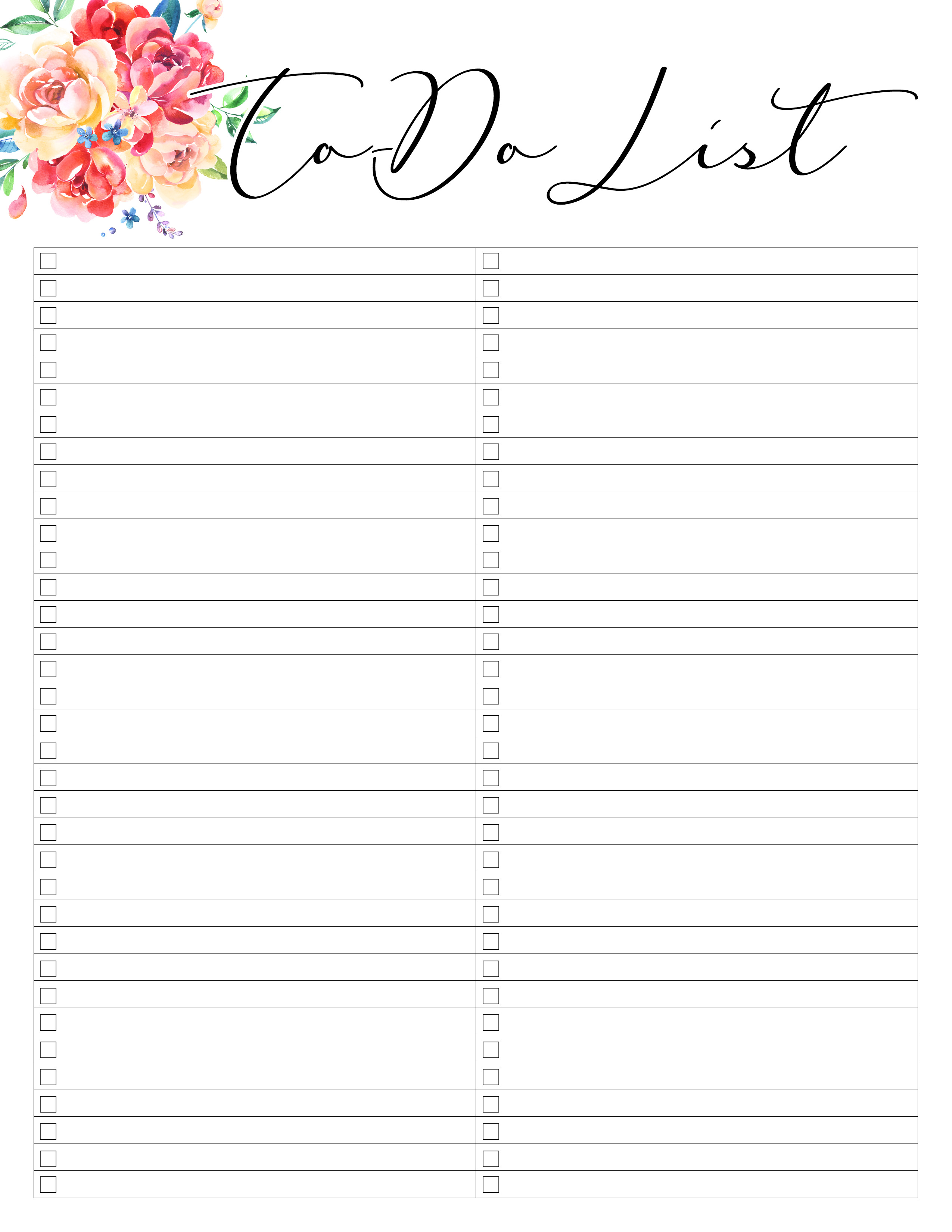 Free Printable 2019 Planner 50 Plus Printable Pages