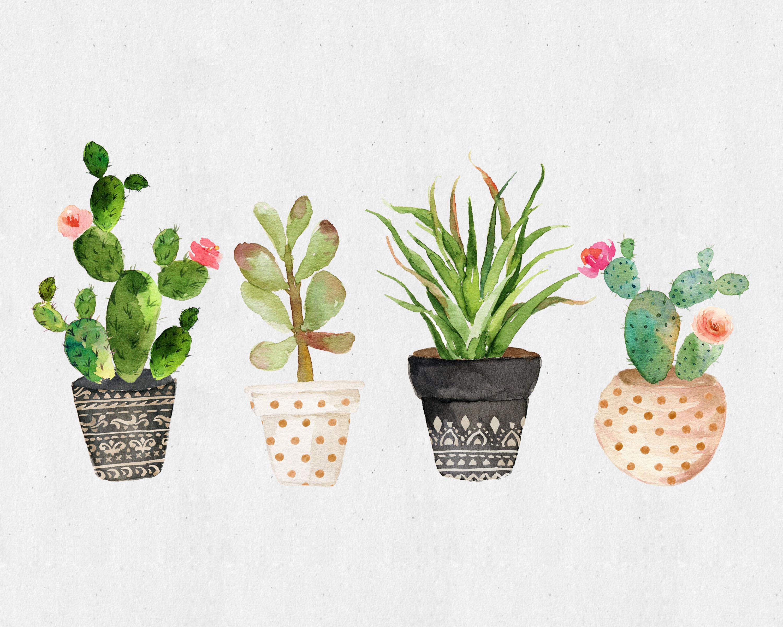 Fabulous And Fun Free Printable Succulent Wall Art