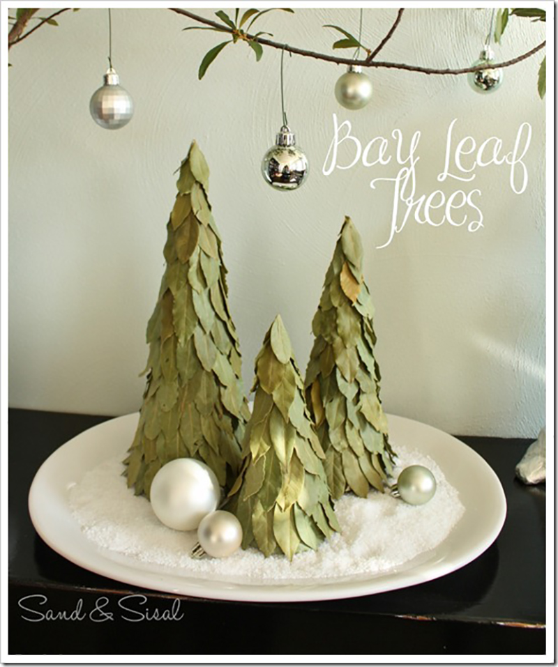 Bay Leaf Pottery Barn Inspired Trees11