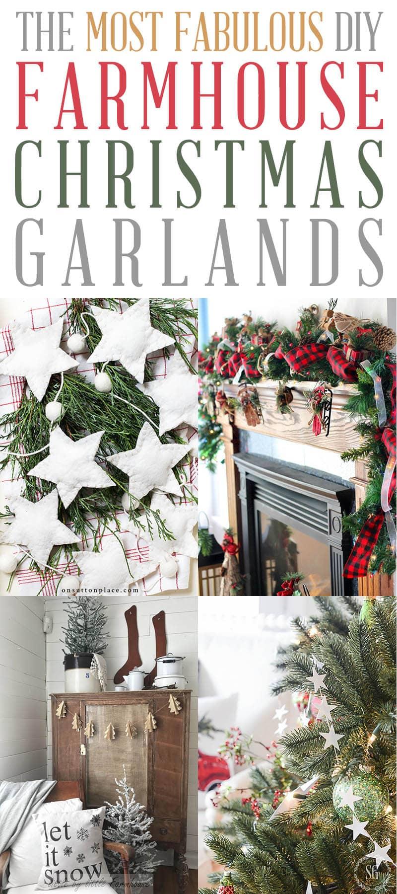 DIY Christmas Garland T 4
