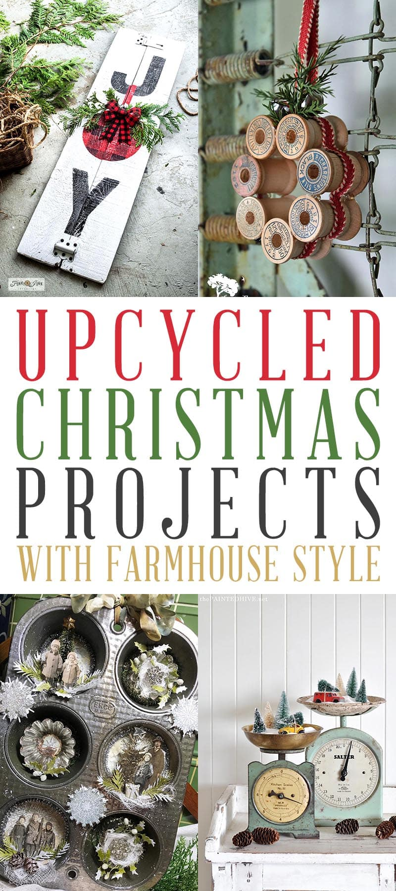 Upcycled Christmas Projects T 1