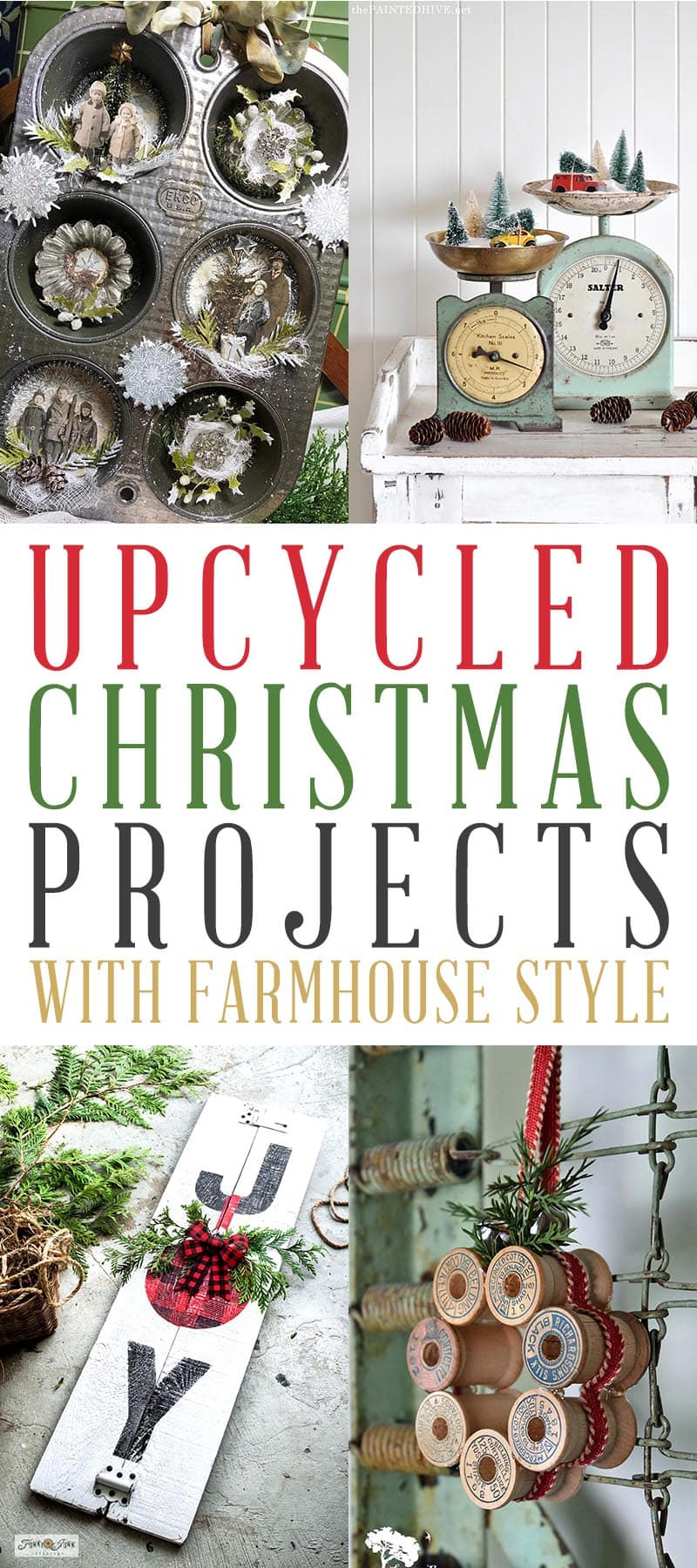 Upcycled Christmas Projects T 2