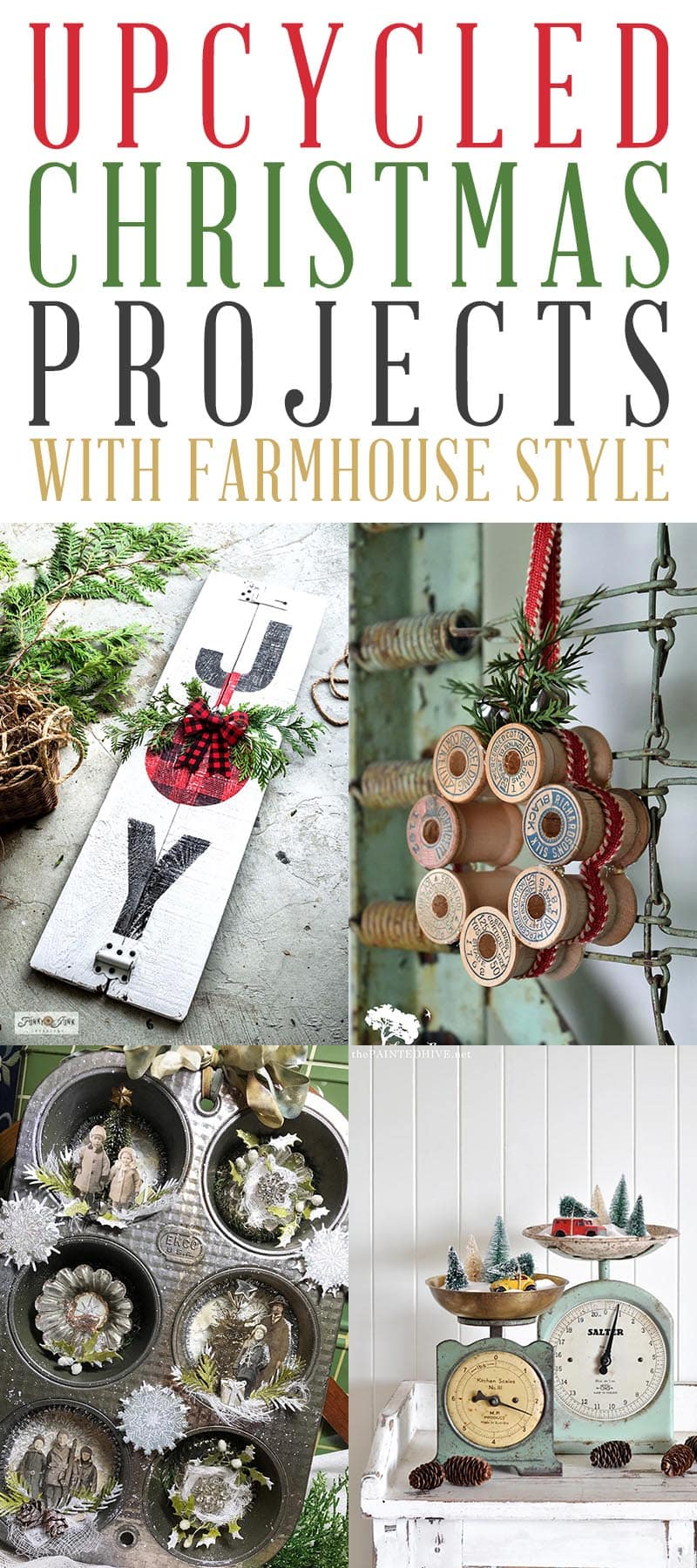 Upcycled Christmas Projects T 4