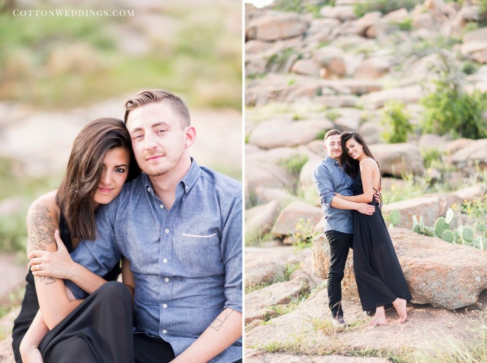 Enchanted Rock Engagement Photography_007