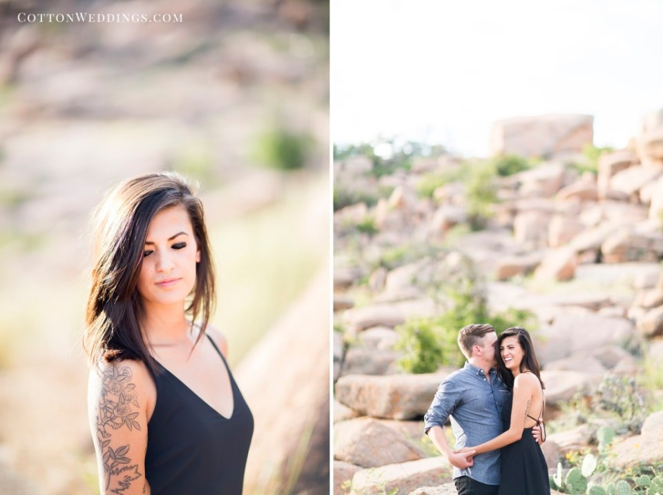 Enchanted Rock Engagement Photography_009