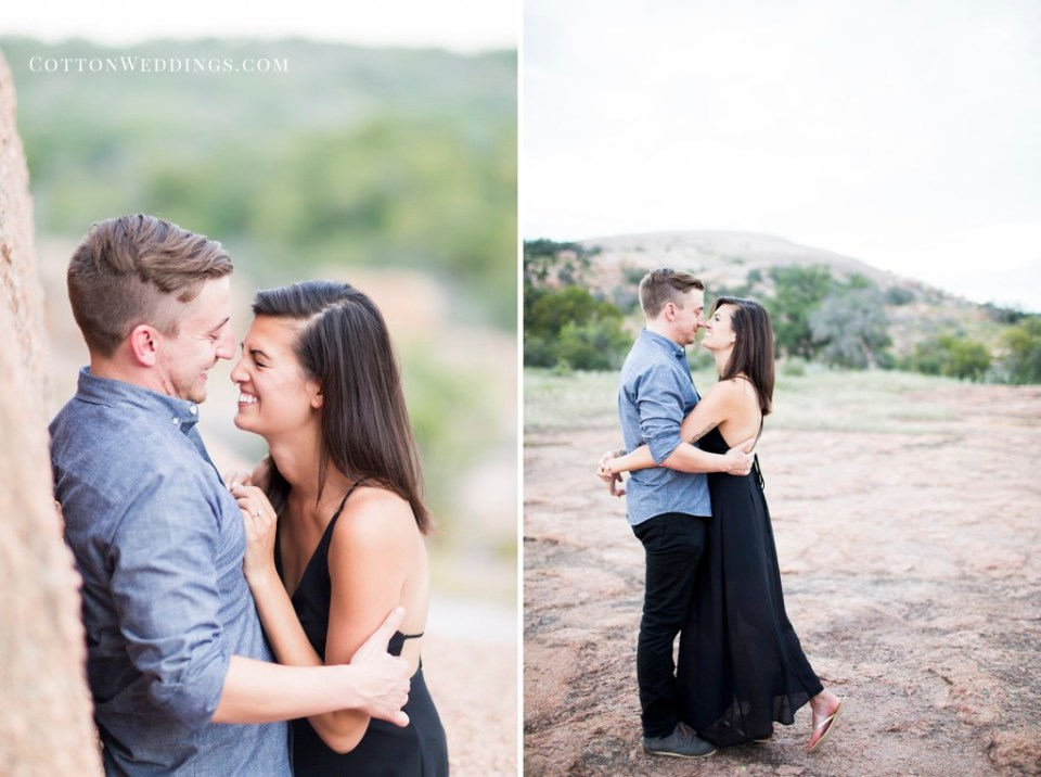 Enchanted Rock Engagement Photography_024