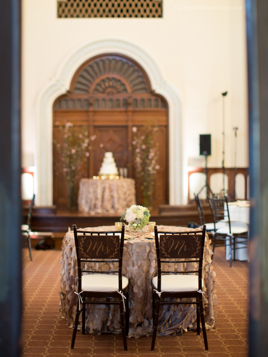 reception details sweetheart table parador houston