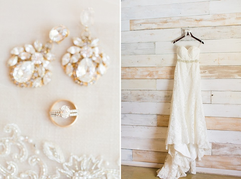 big sky barn wedding dress details