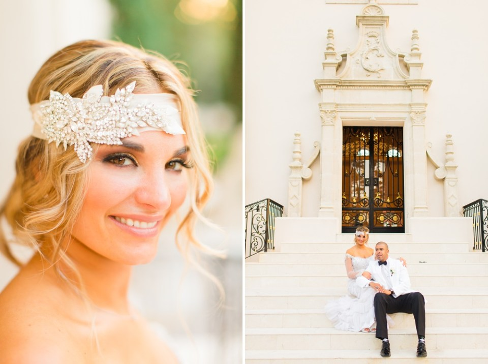 bridal hairpiece great gatsby