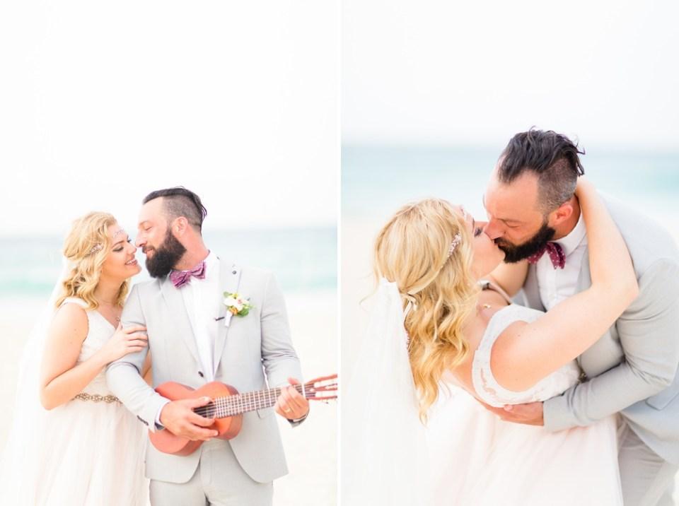 beach destination elopement photography