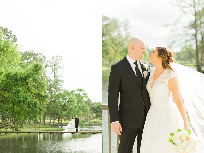 lakeside country club wedding houston
