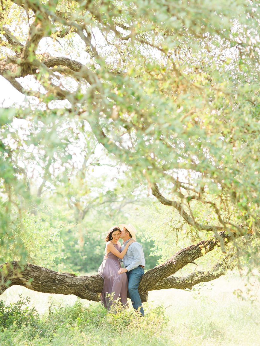 film photographer engagement Texas