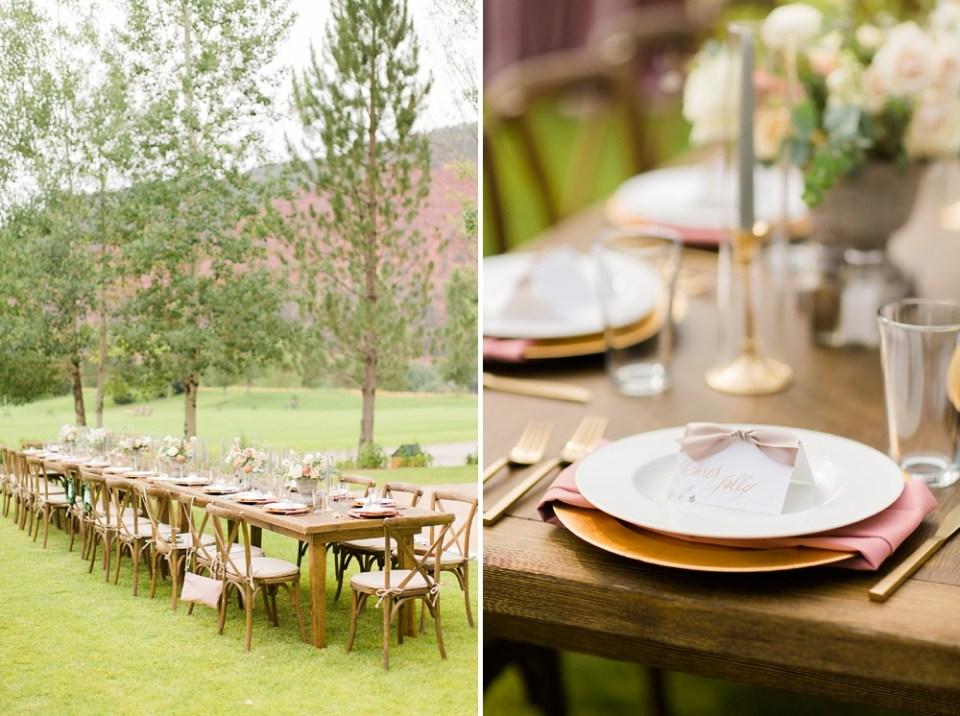 outdoor wedding ceremony colorado