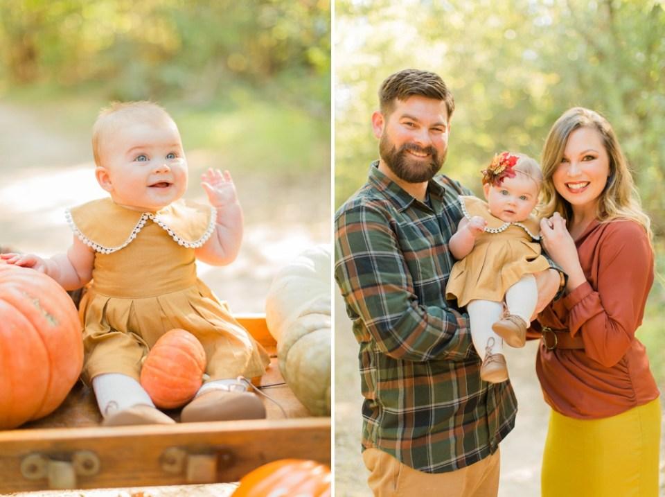 Fall Family Photos Pumpkin