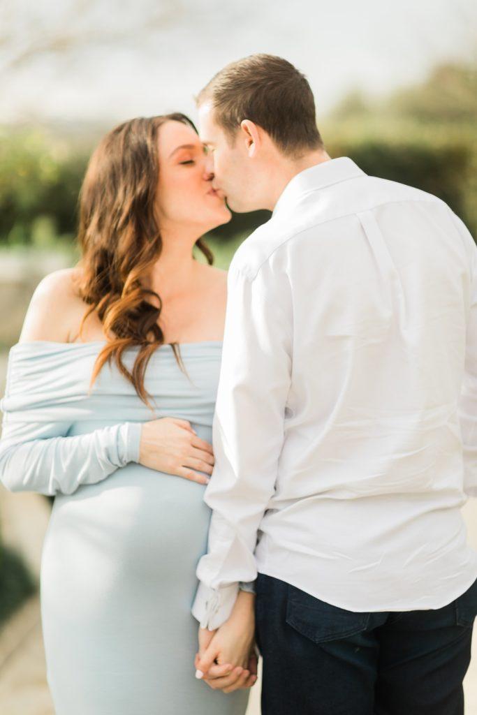 Sunset Maternity Photos in Houston