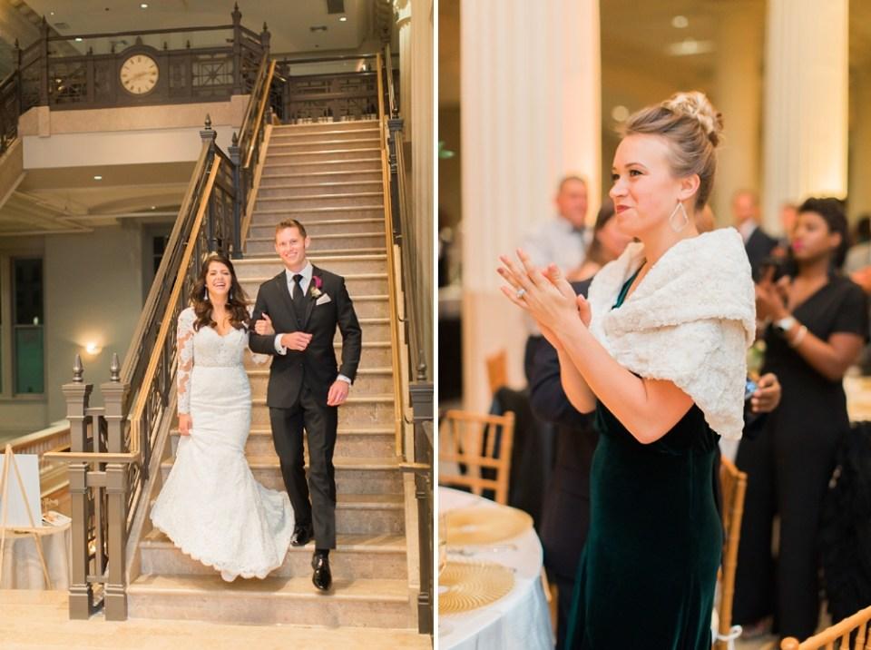 The Corinthian Wedding Grand Entrance