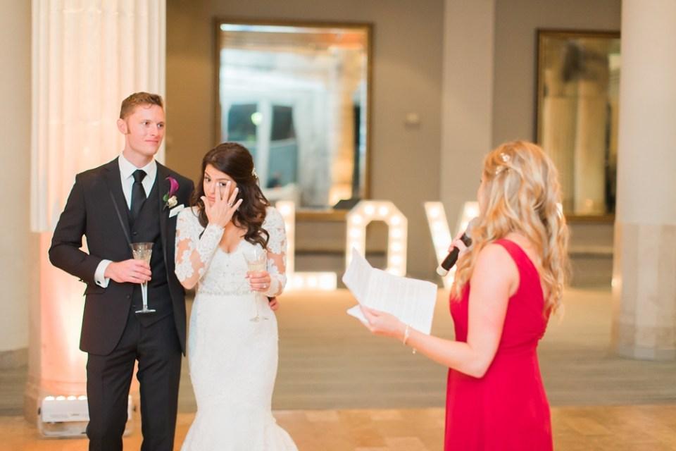 The Corinthian Wedding Toast by Bridemaid