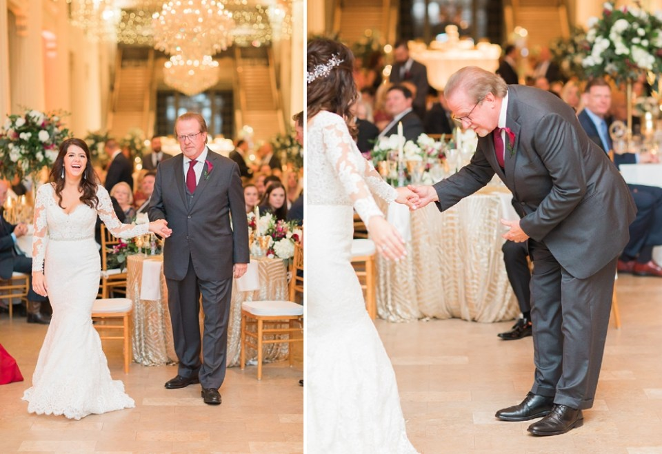 The Corinthian Wedding Father and Daughter First Dance by Cotton Collective