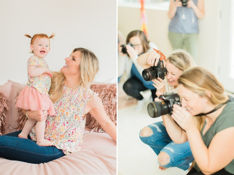 baby photoshoot behind scenes