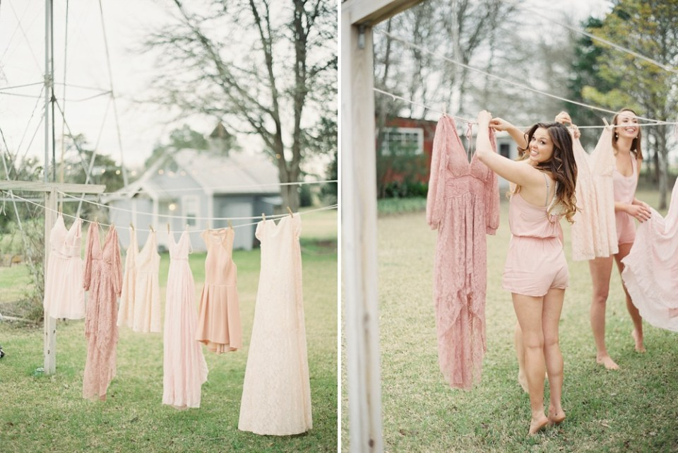 Round Top Bridesmaids Dresses