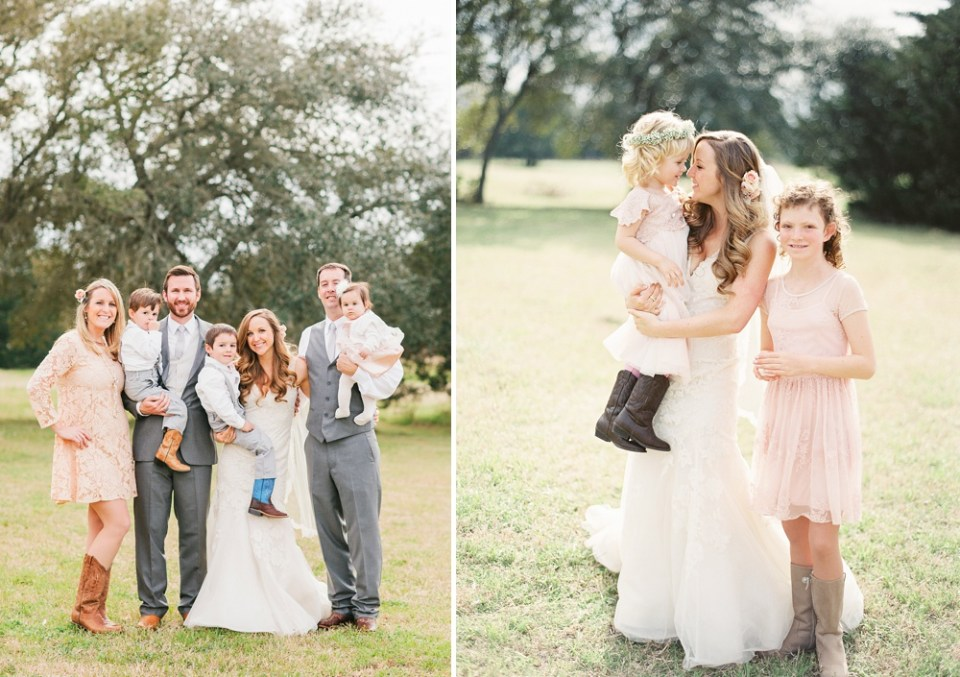 Round Top Family Wedding