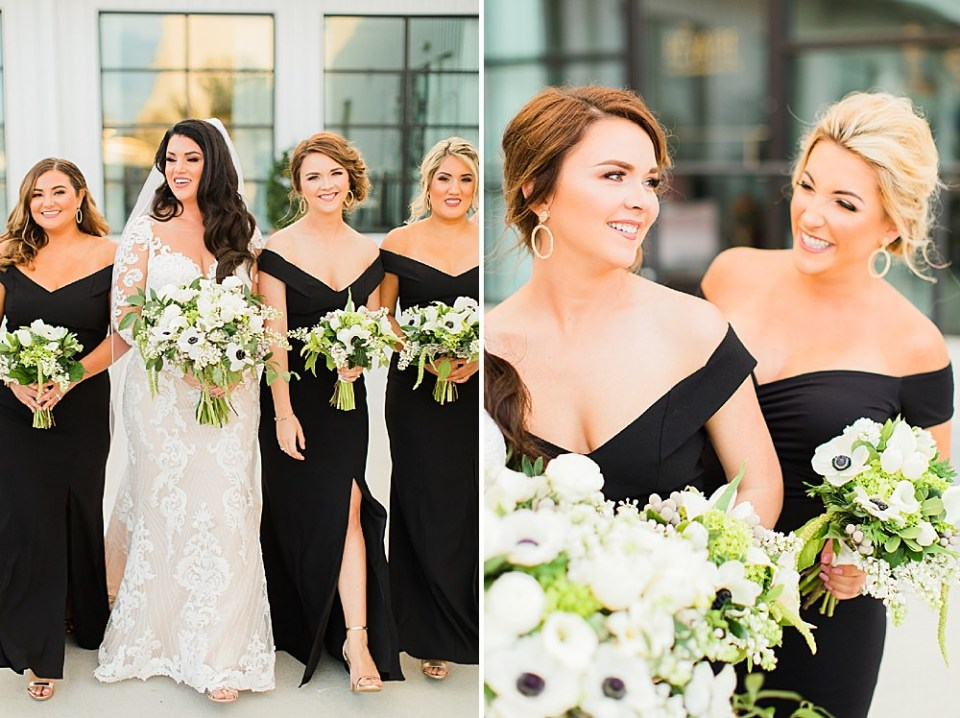 bridal party at the revaire