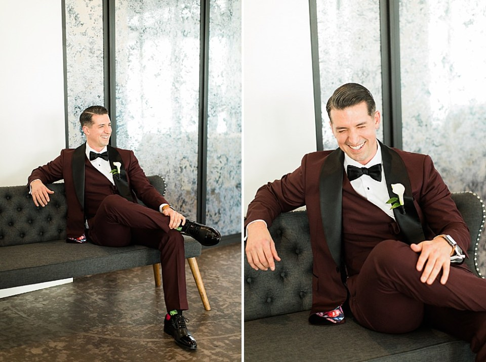 groom at the revaire