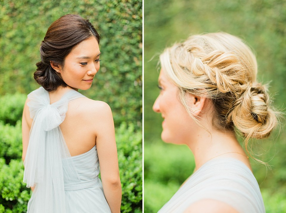 bridesmaid hairsylist