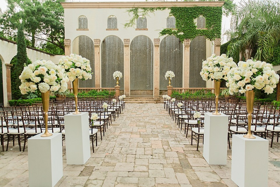 wedding venue in the heights