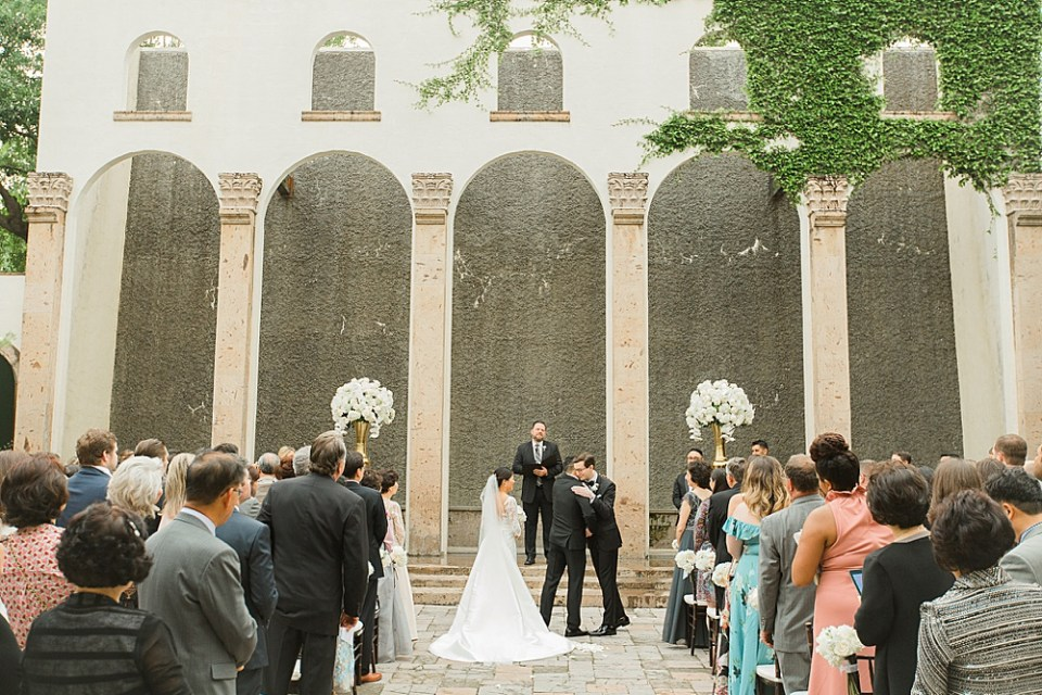 houston wedding at the bell tower