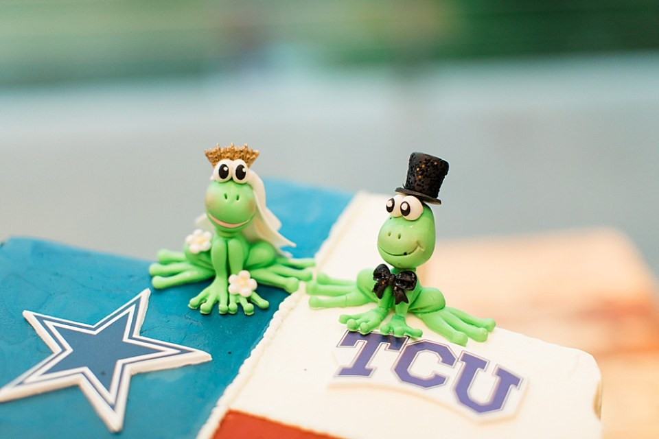 tcu wedding cake