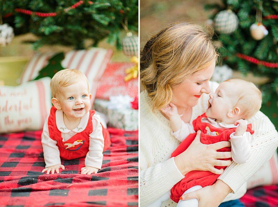 houston christmas family mini
