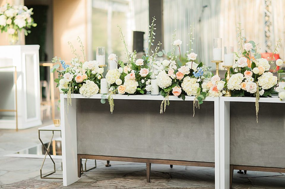 houston wedding reception details