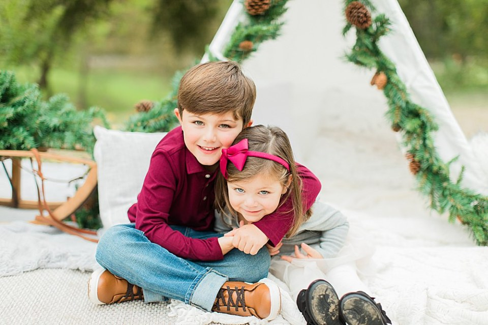 Houston Christmas Mini Session