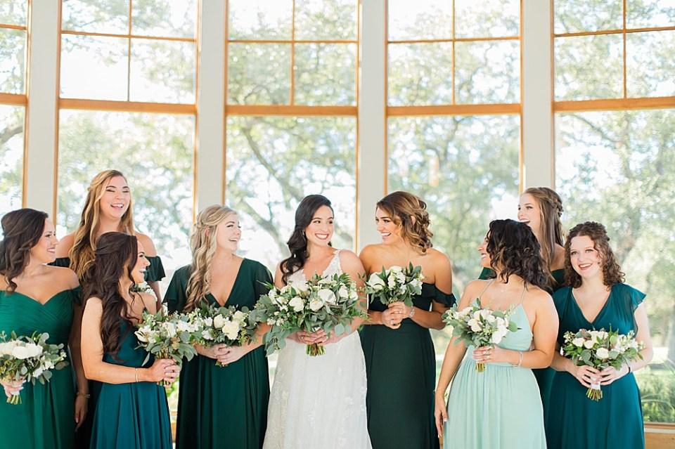 houston bridal party