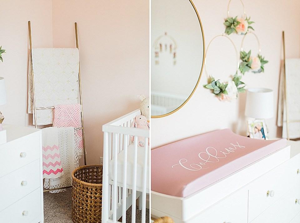 houston baby girl nursery decor