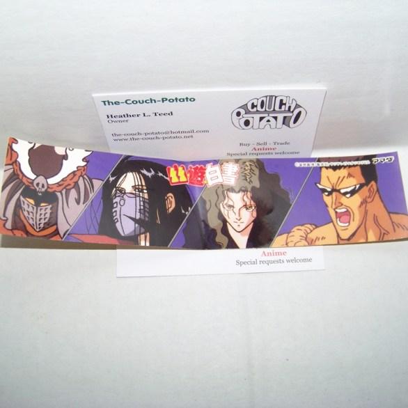 Yu Yu Hakusho Bookmark Sticker