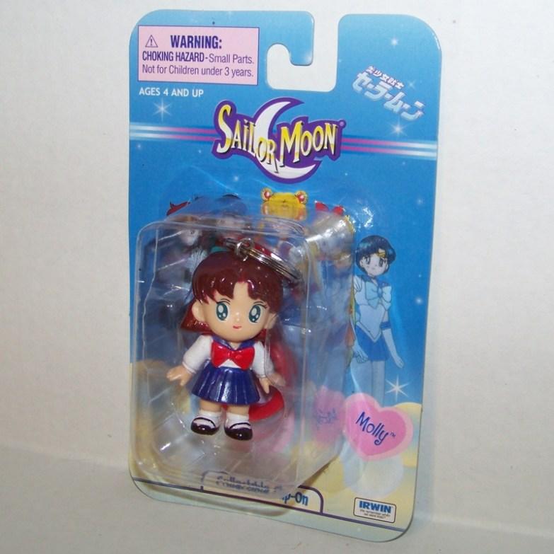 Molly Sailor Moon Clip-On Key Chain