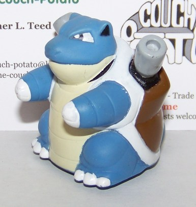 Pokemon Blastoise Roller ball toy figure
