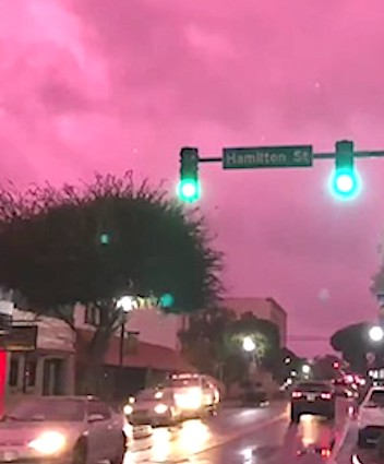 Lake City FL Residents Creeped Out After Purple Clouds