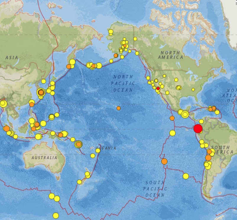 74 Earthquake Ecuador 2016
