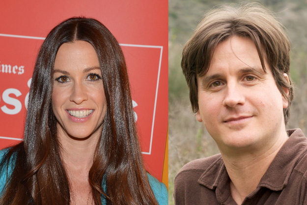 Alanis and Dave Coulier Wade Morissette
