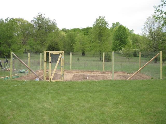 Building Veggie Garden